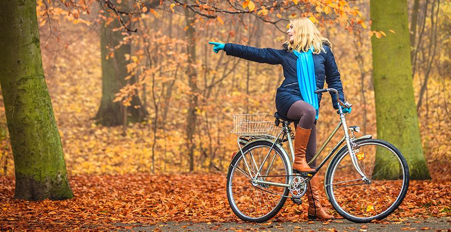 Fynda cykel på nätet